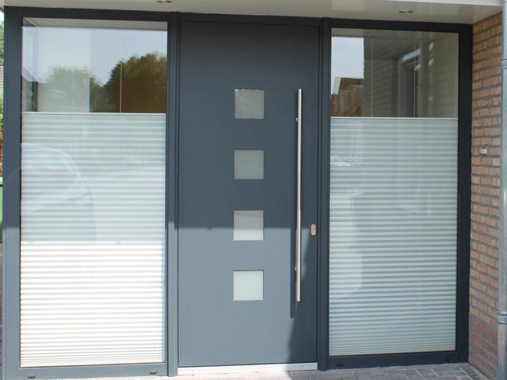 Aluminium deur designgreep